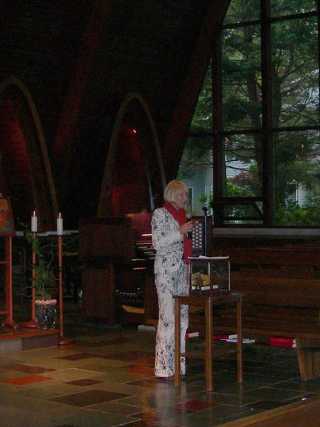 Vera Tariverdieva presented the competition and the Organ Angel which is the simbol of the competition